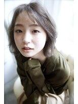 クレドガーデン 吉祥寺店(CRED GARDEN)シースルーバングが可愛い小顔マッシュウルフ/モテ髪カタログ