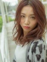モニカ 横須賀中央店(Monica)無造作ウェーブ×スパイシーミディ【横須賀中央】