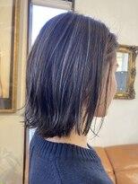 コレットヘア(Colette hair)◎グレーハイライト×切りっぱなし◎