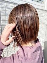 ヘアーチェリーコーク ランプ(HAIR CHERRY COKE Lamp)【新開】切りっぱbob