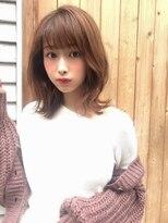 カヤックバイハニー 渋谷店(KAYAK by HONEY)【KAYAK渋谷】小室里奈大人かわいい外ハネ小顔ミディ