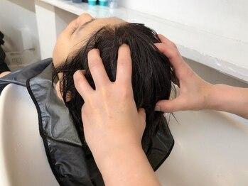 イザワ ヘアメイクサロン(izawa)の写真/日頃の疲れを取りすっきりリフレッシュ☆これからの季節にむけて紫外線対策にも◎
