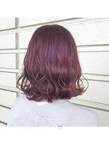 ルッツ(Lutz. hair design)ラベンダーピンク