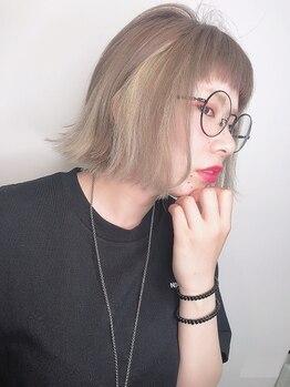 シーデン(C-den)の写真/[Cut¥3100]「イメージチェンジしたい!!」毛先と顔周りのデザインで魅せるショートヘアをご提案!【松戸駅】