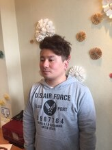 アフィニテ(Hair Design AFFINITE)2ブロックスタイル