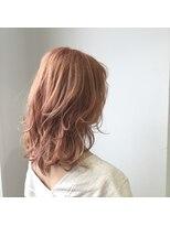 ゴッサムヘアー(Gotham Hair)ゆる巻レイヤー×シエナオレンジ