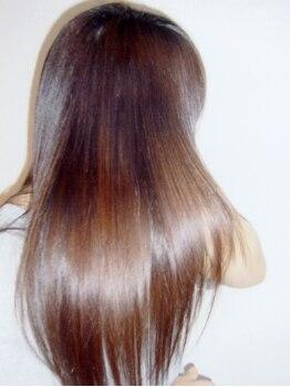 美容室ユアマージュの写真/今年の梅雨はユアマージュの縮毛矯正でキマリ!高価なイメージのG-UPが驚きの価格☆