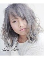 ヘアーガーデン シュシュ(hair garden chou chou)スノーホワイト【シルバーアッシュ】