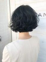 [OCEAN Hair&Life]ミニボブ☆デジタルパーマ☆ウェットヘア☆