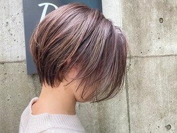 レブ ヘアーサロン(Reb, HairSalon)の写真/こだわったバランスと質感、再現性の高い似合わせショートスタイルは《Reb,Hair Salon》にお任せ!