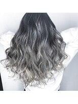 ソース ヘア アトリエ 京橋(Source hair atelier)【SOURCE】ホワイトブリーチバレイヤージュ