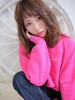 イマドキ質感×デザインカラーで最旬ヘア☆