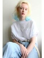 春にイチオシ*裾カラー