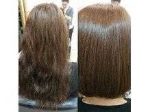 ルナエソル(Luna et Sol)の雰囲気(ダメージを受けた髪や傷みやすい髪のケアが得意な美容室です☆)