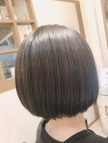 リリー ヘアーデザイン(Lilly hair design)【勝田台駅Lilly昼間】首元すっきりショートボブ