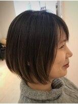 ヘアーリゾートラシックアールプラス(hair resort lachiq R+)《R+》ショート☆前下がり