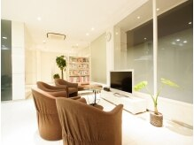 ビップ ビューティーラウンジ(vip beauty lounge )の雰囲気(清潔感がありキレイで落ち着く空間です。)