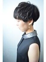 モリオ 池袋店(morio FROM LONDON)【morio池袋】夏人気の髪型 黒髪大人ベリーショート