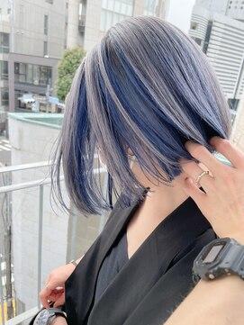 サイ(sai)【sai】シルバーブルーインナーカラー