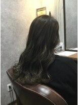 セブン ヘア ワークス(Seven Hair Works)[カラーベーシック]ブリーチなしグレージュ系カラー