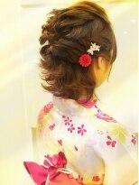クラメール 黒崎コムシティ店(Kraemer)ブルーノがご提案する浴衣にあったヘアスタイル 1