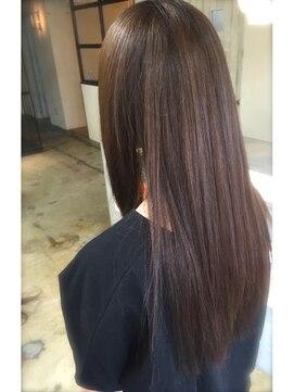 ニコアヘアデザイン(Nicoa hair design)思わず触りたくなる質感☆自然なストレートパーマスタイル