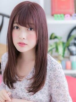 マカロン 須賀川店(macaron)の写真/ダメージレベルをしっかり見極め、艶やかな美ヘアに導く♪髪質に合ったトリートメントをご提供◎[須賀川]