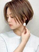 シルクレイ(Silk-lei)クールショートの小顔オリーブカラー 20代30代40代/Silk-lei銀座