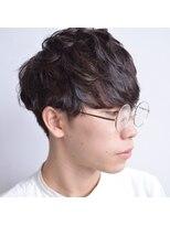ビレップドゥエ(BIL'EP due)ゆるパーマ*マッシュ