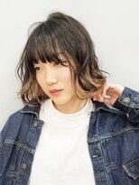エイム ヘアメイク 横川店(eim HAIR MAKE)beige x ash ☆インナーカラー