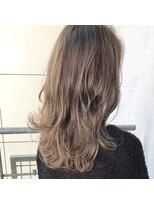 ガーデンヘアー(Garden hair)[松岡]最高の透明感☆2ブリーチハイライトグレージュ☆