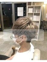 ダブルケーツー 倉敷店(wk-two)☆メンズカラー Quick silver beige☆