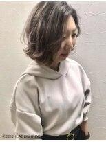 フローレス バイ ヘッドライト 三鷹店(hair flores by HEADLIGHT)#春色透明感チェリーピンクブラウン×ニュアンスボブ