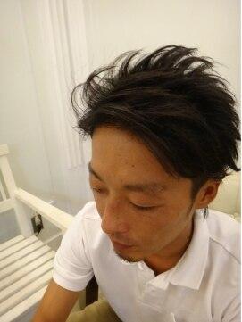 ヘアー アリー hair allyビジネス系☆ショートウルフ
