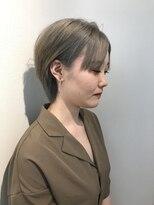 ヘアーリゾートラシックアールプラス(hair resort lachiq R+)《R+》シルバーアッシュ☆ショート