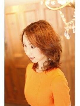 エール 生駒(aile Total Beauty Salon)ちょっぴりエレガントセミディ