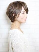 エアー ギンザ(air-GINZA)トップにボリュームを出したひし形美シルエット☆大人なボブ☆