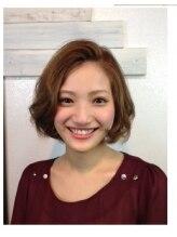 サインヘアー 静岡(sign hair)レトロボブ