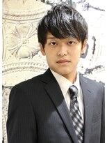 銀座マツナガ 箱崎店(GINZA MATSUNAGA)【マツナガ箱崎】2wayツーブロックスタイル