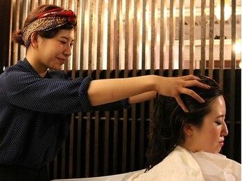 ルシア(Lucia)の写真/99%オーガニックのスパ。低刺激で髪だけでなく肌にもやさしいヘッドスパは本当の癒しを味わえます。