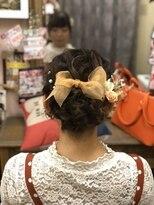 ヘアセットサロン アトリエ チャイ(Hair set salon atelier CHAI)華やかアップ