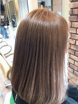 ヘアーズアビリティー(HAIR'S ability)の写真/[阪神西宮/駐車場有]7種類の薬剤をオーダーメイドで調合し、柔らかく丸みのある自然なストレートを実現!