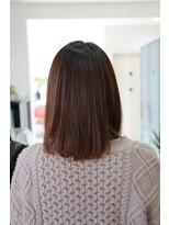 ヘアーメイク プリュム(Hair make Plume)ミディアムボブ