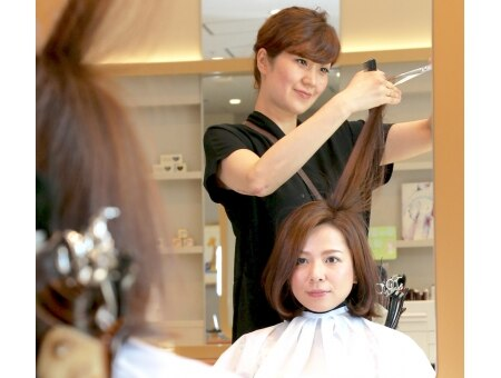 アトリエはるか 京急川崎店(HAIR DRESSER by アトリエはるか)の雰囲気(プロがお客様の雰囲気や服装に合わせてご提案)