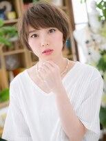 カバーヘア ブリス 北浦和西口店(COVER HAIR bliss)*bliss北浦和*前下がり&斜めバングの女っぽマッシュa