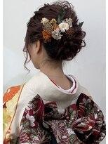 ふんわり hair arrange
