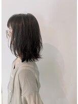 ヘアーサロン オーツー(HAIR SALON O+O)自然な動きとハネ感プラスレイヤーミディアムヘア☆