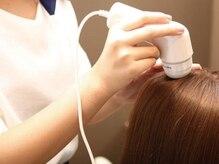 マイクロスコープを使って今の髪の状態を診断 [熊本/中央区/上通り/並木坂/髪質改善]