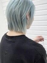 シキナ(sikina)【ナカムラ_design】ホワイトブルーヘア