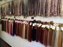 ヴェール 郡山店(Vert)の雰囲気(長さもお色も豊富にそろえてあります♪)